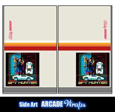 SPY Hunter ARCADE lato ARTE Pannello Adesivi / stratificato tutte le taglie disponibili