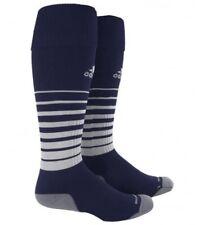 ADIDAS Team Speed OTC Soccer Socks Navy Blue White Youth S Fits 13c-4y Mens L 9-