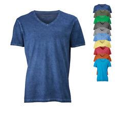 James & Nicholson Herren T-Shirt MEN'S GIPSY T-SHIRT V-Ausschnitt Neu JN976