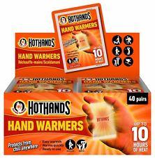HOT HANDS HEATMAX HAND WARMERS GLOVES RAYNAUDS SKI GOLF FISHING POCKET HEAT PACK