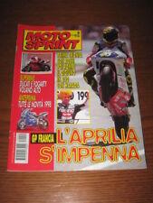 MOTOSPRINT 1997/24 HARADA VALENTINO ROSSI FOGARTY SBK @