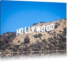 Hollywood Wahrzeichen  Leinwandbild Wanddeko Kunstdruck