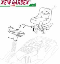 Vista desarrollada asiento volante tractor podadora EL63 XE70 CASTELGARDEN