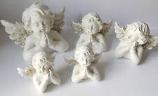Engelsbüste Engel Weihnachten Tischdeko Jahresendzeitfigur Putte Engelskopf Kopf