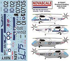 RAN Decals Seaking HAS.50 817 Sqn 1/72 Scale N72007