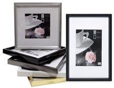 Bilderrahmen Homestyle  ab 13x18 mit Passepartout  zb: Silber gold weiß schwarz