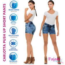 CYSM Colombian Butt Lifting Pocket Jeans Levanta Cola Push Up Summer Short Pants