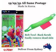 Korean Italy Towel 1p/2p3p Exfoliating Back Scrub Viscose Towel Made in Korea!!