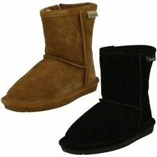 Girls Bearpaw Real Sheepskin Lined Boots 'Emma Toddler'