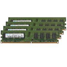 8GB (4x 2GB) / 1GB PC2-6400U DDR2-800 CL6 intel NON ECC RAM For Samsung UK LOT