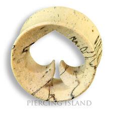 6mm - 22mm Holz Wood PiK As Ace OF Spades Flesh Tunnel Ear Plug Ohr Piercing 324