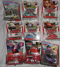 Disney Pixar Cars 2 Diecast Mega Tamaño Versión Deluxe raros Mattel Colección Nueva