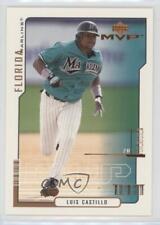 2000 Upper Deck MVP #109 Luis Castillo Miami Marlins Baseball Card