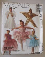 McCall's 5613 Sewing Pattern 'Storytime Magic' Costumes Fairy~Princess U-Pick UC