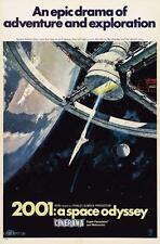 2001 A SPACE ODYSSEY VINTAGE MOVIE POSTER  FILM A4 A3 ART PRINT CINEMA