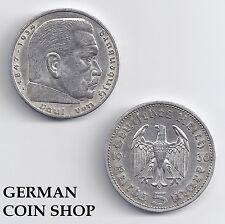 5 Reichsmark SILBER 1935 - 1936 A D E F G J - bitte auswählen - Drittes Reich
