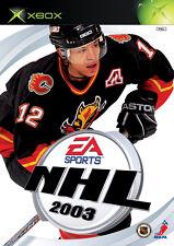 NHL 2003 (Microsoft Xbox, 2002, DVD-Box)   Neuware