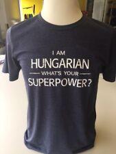 Magyar Apparel Men's T-shirt Cotton Blend Hungarian Superpower XS-4X