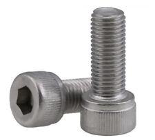 304 Stainless Fine Thread Bolt M10*1.25 Hex Socket Head Cap  Screws