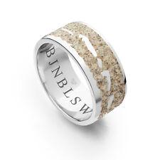 """DUR Schmuck Ring """"Nordsee II"""" Strandsand Silber 925/- rhodiniert (R4902)"""