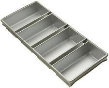 Bread Pan 4 Strap Aluminized Steel