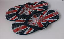 Mens Union Jack flip-flops A0032