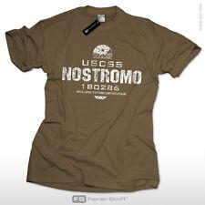 USCSS Nostromo Xenomorph Alien Aliens Shirt nerd gamer prometheus weyland kult