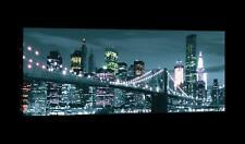 Wundervolles   Wandbild  Leinwandbild Kunstdruck Stadt 15F0016520 New York Brück