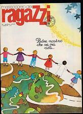 MESSAGGERO DEI RAGAZZI N. 15 MAGGIO 1979 DINO BATTAGLIA LILLO DISNEY LELOUP