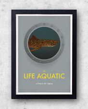The Life Aquatic with Steve Zissou - Original Poster - Wes Anderson Bill Murray