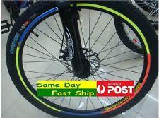 .1 sheet / 8 stripes Bike Bicycle Car Reflective Stickers Wheel Reflectors AU