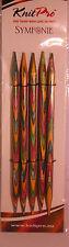 KnitPro Symfonie Holz Nadelspiel alle Größen Strumpfstricknadeln