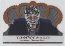 2000-01 Pacific Crown Royale #42 Tommy Salo Edmonton Oilers Hockey Card