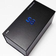 Caja Vacía sólo embalaje por menor con envoltura de sello de fábrica de película para Samsung Galaxy S8