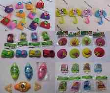 8 Rubber Pencil Eraser Stationery Kid Children Novelty for party bag filler car