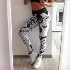 New Wide Belt Legging Beauty & I love Squats letter printed Slim Legging S-L