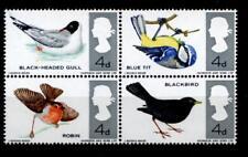 Vögel. 4W. Großbritannien 1966