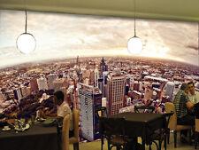 3D MIT Blick auf Stadt 370 Fototapeten Wandbild Fototapete BildTapete Familie DE