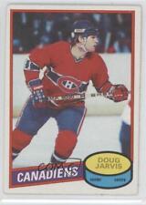 1980-81 O-Pee-Chee #76 Doug Jarvis Montreal Canadiens Hockey Card