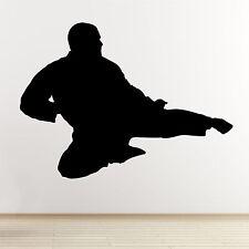 FLYING KICK di Adesivi Murali-TAEKWONDO / Karate / miste Arti Marziali Adesivo