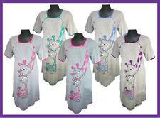 Nachthemd*Stillnachthemd*Umstandshemd100% Baumwolle*6 Farben*Gr.S,M,L,XL,XXL