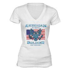 American Flag eagle T-Shirt 4th of july clothes Fourth Army Patriot USA Tshirt