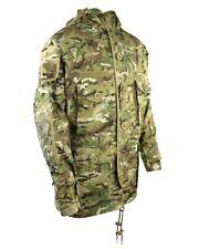 Kombat SAS Style Assault Jacket BTP Ripstop Wire Hood Hook&Loop Cuffs Molle Tabs