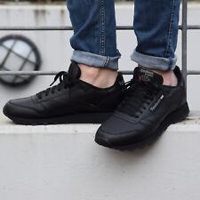 Reebok Classic Leather Schuhe Sneaker Unisex Echtleder Schwarz 2267