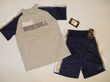 NWT $38 NIKE 2pc set BOY size 2T gray, navy blue