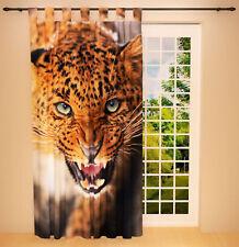 """Foto Schlaufenschal Vorhang Gardine Kinderzimmer """"Leopard"""""""