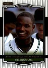 2008 Razor Signature Series Baseball - Choose Your Cards