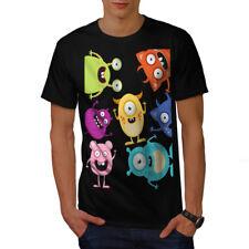 Wellcoda Monster Lindo Diseño Para Hombres Camiseta, precioso diseño gráfico impreso camiseta