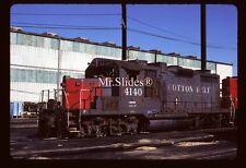 Original Slide SSW Cotton Belt GP20 4140 In 1985 At Houston TX
