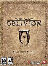 Elder Scrolls IV: Oblivion -- Collector's Edit. (PC, 2006) -very good / likenew